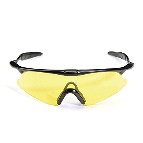 TININNA Outdoor Sonnenbrille Schutzbrille winddicht Staubdicht Skibrille Brille für Fahrrad...