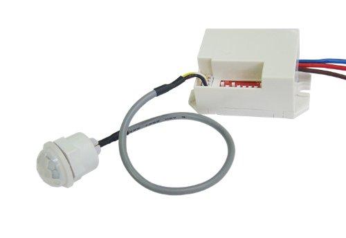 Bioledex Mini-Bewegungsmelder zum Einbau 230V Einbau-PIR Sensor