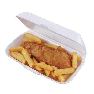 Schaumstoff Ablagefächer Fisch und Chip Pack Menge: 250