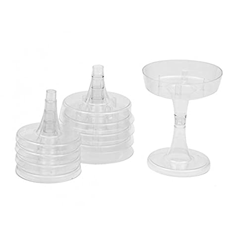Compote Bowl 11 cm Pack of 5 Clear