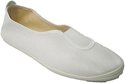 Zapatilla clásica de gimnasia Irabia en blanco