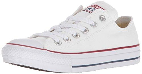 Converse All Star Chuck Taylor Ox, Sneakers Unisex - Adulto (Bianco ottico)