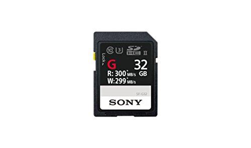 32gb Sony Sdhc (Sony 32GB UHS-II SD 32GB SDHC UHS-II Klasse 10 Speicherkarte - Speicherkarten (32 GB, SDHC, Klasse 10, UHS-II, Schwarz))