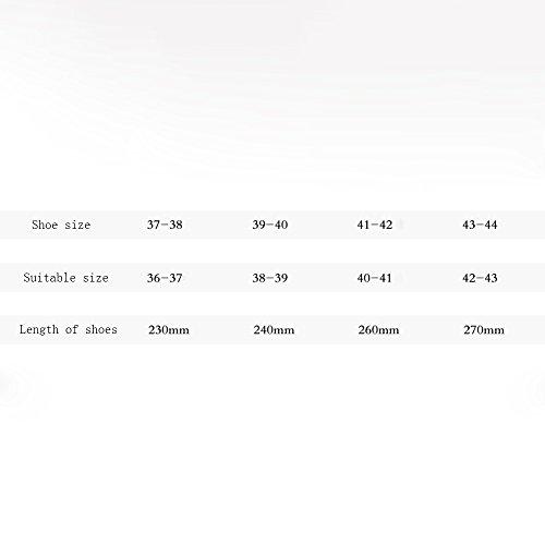 ZHIRONG Pantoufles en coton dautomne et dhiver Demi-paquet de dames avec des chaussures pour hommes Chaussons maison à glissière intérieure (5 couleurs en option) (taille en option) ( Couleur : Gris Marine