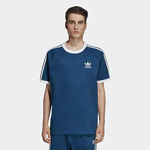 the latest b5f29 d9c86 adidas CW Tee T-Shirt, Men, mens, DV1631, Legend Marine/white, S
