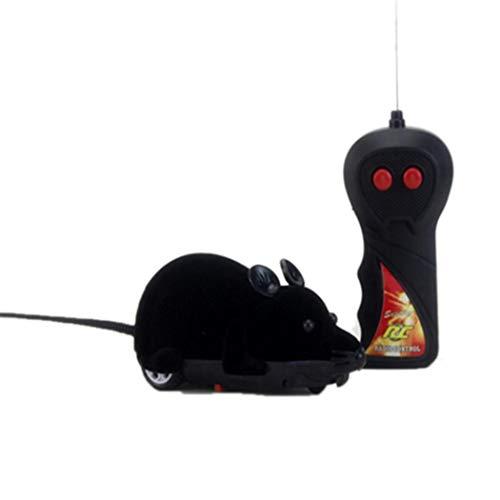 Tomasa Control Remoto Inalámbrico Simulación Ratón eléctrico Juguete Mascotas Gatos Juego Mascotas