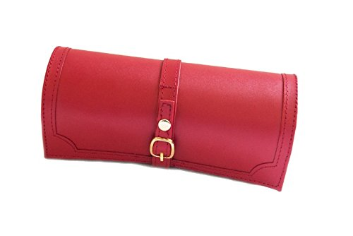 red-bonded-leather-jewellery-roll