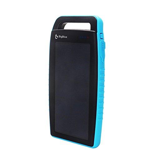 BigBlue-10000-mAh-Solar-Externer-Akku-2-USB-Ports-mit-6-LED-Taschenlampe-Power-Bank-fr-Fast-Charging-fr-Smartphones-Tablets-und-mehre-in-Blau
