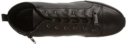 Jb Martin 1stanton, Sneakers Hautes femme Noir (T Velvet Matelas Str/V Garn Noir)