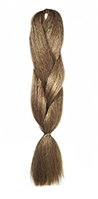 American Dream Dreadlocks and Creative Styling Kanekelon Regular Braid for Hair Extensions, Colour 27/30 Mousey Brown/Red Brown by American Dream