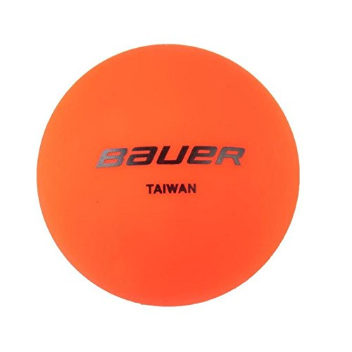 Bauer sans rebond de hockey Temps Chaud - Orange simple de