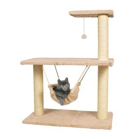 Morella' Cat Scratching Post with toys and Hammock by Trixie