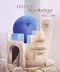Abnormal Psychology - Ronald J. Comer - Hardcover by Ronald??J.??Comer (2003-08-01)