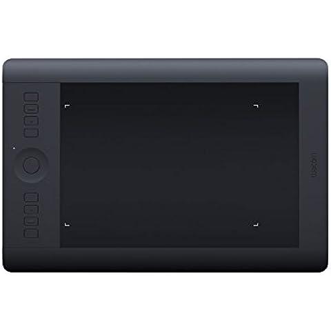 Wacom Intuos Pro M - Tableta gráfica (Bolígrafo incluido, 224 x 140, USB), negro