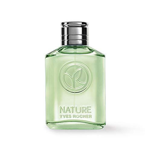 Yves Rocher NATURE Eau de Toilette Zedernholz & Limette, Parfüm für Herren, holzig & erfrischend, 1 x Zerstäuber 75 ml (Zedernholz)