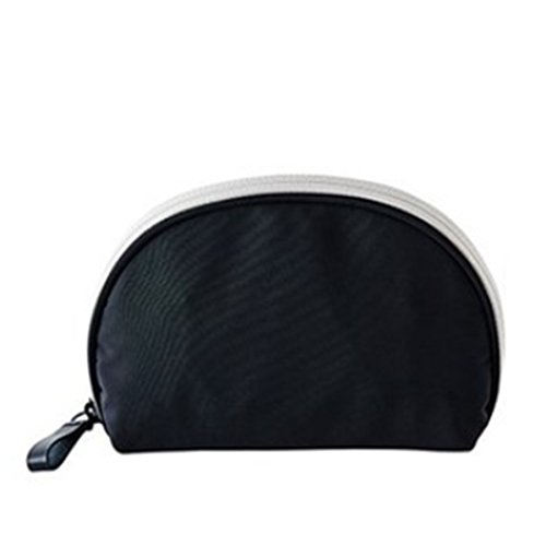 nicetravel Kosmetiktasche Kosmetikerin Kupplung Taschen 15x 11x 5cm mint schwarz