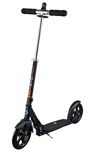 Micro Scooter Deluxe Interlock - Tretroller, Scooter Farbe schwarz