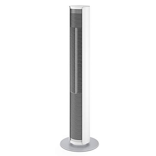 Stadler Form Turmventilator Peter, inkl. Fernbedienung, drei Geschwindigkeitsstufen, mit Timer und Natur-Modus, für kühle Luft in Schlafzimmer & Büro, weiss