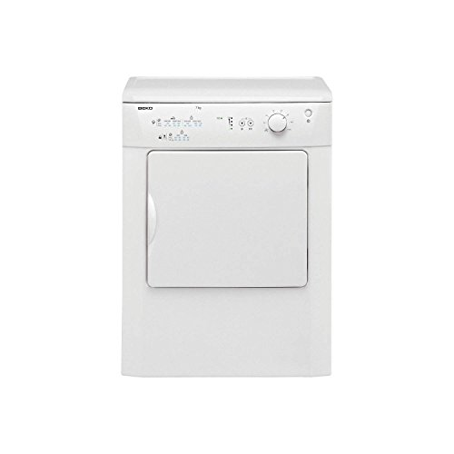 Beko DRVT71W 7Kg Vented Dryer with Reverse Action in White
