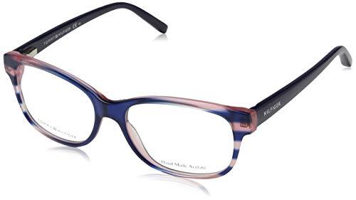 Tommy Hilfiger Unisex-Erwachsene TH 1017 Brillengestelle, Mehrfarbig, 52