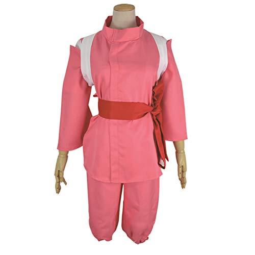 Kostüm Chihiro - YKJ Anime Cosplay Deep Pink Anime Workwear Komplette Weibliche Animation Spiel Kampf Erwachsene Anime Geschenk Halloween Kostüm,Full Set-XL