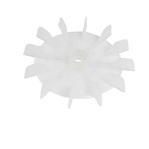 Maschine Teil klar Kunststoff 14mm Inner Dia. 14-impeller Motor Fan Blade