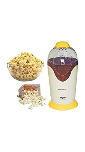 Smileindia Skyline Vi-4040 8400 Gm Popcorn Maker (yellow & Brown)