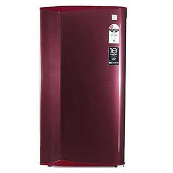 Godrej 181 L 2 Star Direct-Cool Single Door Refrigerator (RD AXIS 196B 23 WRF ST WN, Steel Wine)