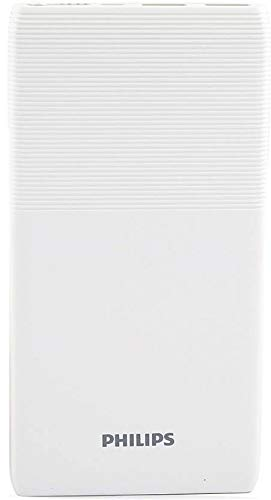 Philips 10000 mAh Power Bank  DLP9001NW, DLP9001NW   White, Lithium Polymer