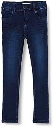 NAME IT Nmfpolly Dnmcil Pant Camp Jeans para Niñas