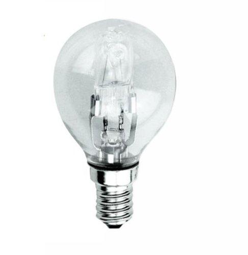 Silver esferica-Lampe Halogène Eco 42W E-14