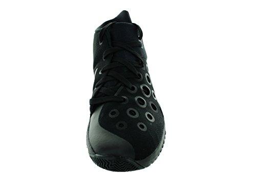 Zoom Hyperquickness 2015 scarpe da basket New Black Red Black/Metallic Silver