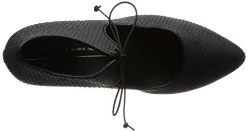 BLACK1001 Nero ECCO con 75 Shape Scarpe Donna Tacco Pointy AwF6Ax1q