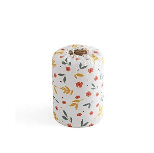 LittleCat Quilt Large Feuchtigkeitsbeständige Aufbewahrungstasche Kleidung Finishing Bag Packsack (Farbe : Square Floral Big) -