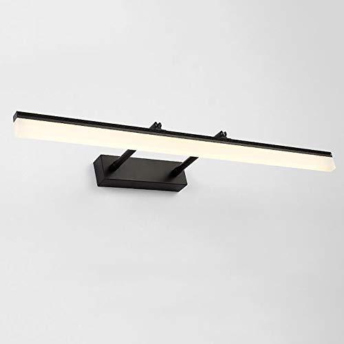 gelleuchte, Eitelkeit Spiegelleuchte Schminklicht Wandleuchten Beleuchtung Fixture Strip Badleuchte-warmweiß/schwarz 90(35inch) ()