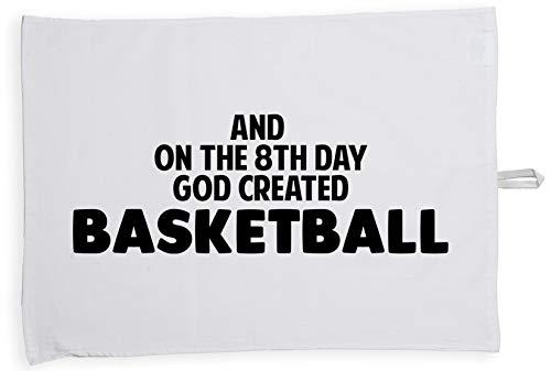 ac4e78c17f Hippowarehouse and on The 8th Day God Created Basketball Accesorio de  Cocina de Tela de paño