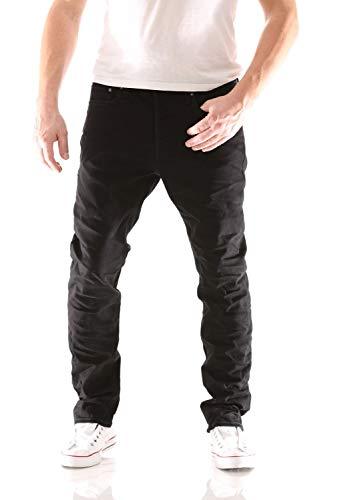JACK & JONES Tim Original Slim Fit Herren Jeans, Hosengröße:W34/L30, Farbe:Schwarz (816 Black Denim)