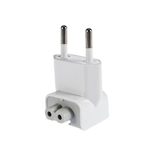 FUGEN Two Pin Power Adapter for Apple Macbook Pro/Air/Retina (White)