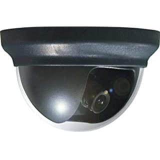 Avtech KPC132ZEP Black CCTV Indoor Outdoor Day & Night Dome Security Camera 520TVL Wide Angle 3.6mm