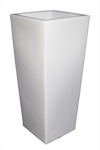 "Design Leuchten ""Arnusa Oasis Lights"" LED Blumenkübel Pflanzkübel Blumentopf (Leuchtvase (31x75x31cm))"
