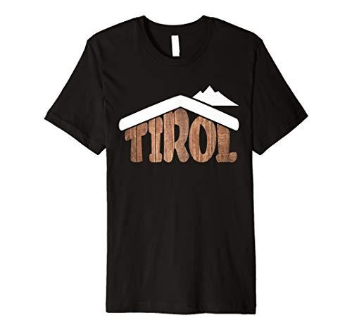 Tirol T-Shirt Österreich Almhütten Souvenir für Schifahrer
