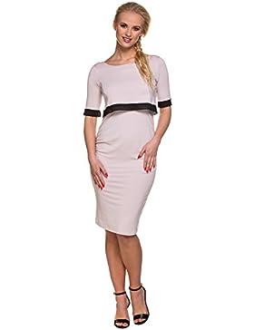 Mutterschafts Kleid StillKleid Jackie Spitze rosa Hochzeit Elegant Umstandsmode von MY TUMMY ®©™