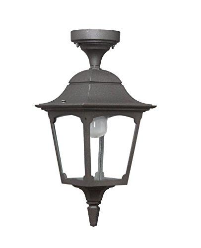 Made in Italy MAIORI MA309 Lanterne Lampe de Plafond-Plafonnier en aluminium et éclairage d'extérieur fabriqué en Italie par Valastro Lighting blanc