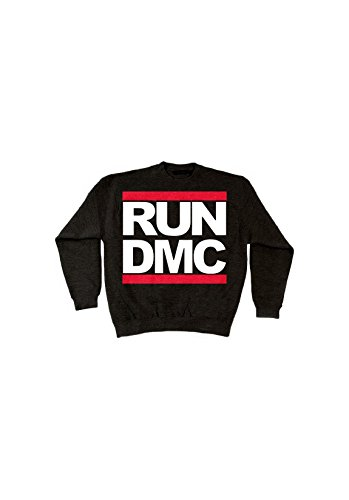 Magic custom - Sweat col rond Run dmc Noir
