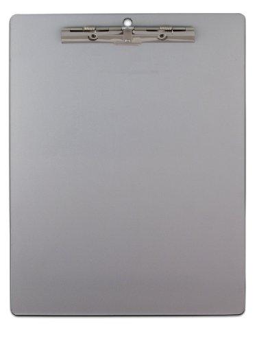 Saunders aluminio reciclado portapapeles con serrado Clip, tamaño carta, 8,5x (30,5cm, 1portapapeles (11517)