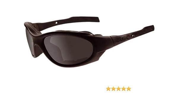 Wiley X Schutzbrille Saber Advanced Im Set mit 3 Gl/äsern 309 M//XL Matt Schwarz