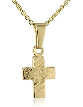 Xaana Kinder und Jugendliche Halskette 8 Karat (333) Gelbgold 38 cm AMZ0336