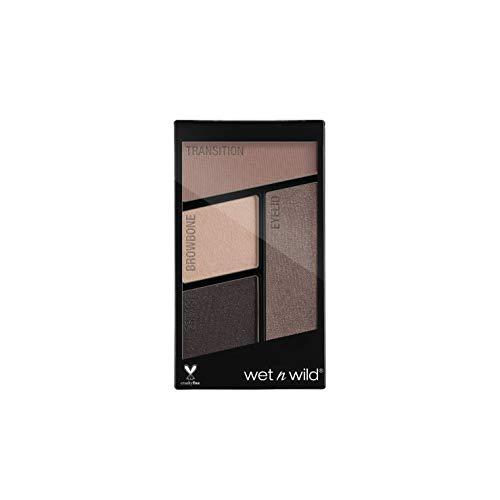 Wet n Wild Color Icon Eyeshadow Quads, Silent Treatment, 4.5g