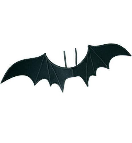KarnevalsTeufel Fledermaus-Flügel in schwarz für Erwachsene Schwinge Halloween Accessoire