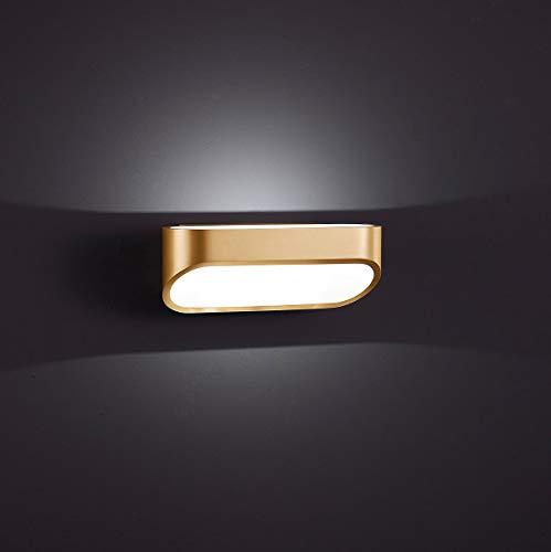 Helestra LED Downlight Onno Mattmessing Mattweiß IP20 | LEDs fest verbaut 6W 400lm warmweiß | 18/1225.02